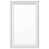 JELD-WEN V4500 1-Lite Vinyl Double Pane Double Strength New Construction Casement Window (Rough Opening: 36-in x 60-in Actual: 35.5-in x 59.5-in)