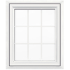 JELD-WEN V4500 1-Lite Vinyl Double Pane Double Strength New Construction Casement Window (Rough Opening: 30-in x 36-in Actual: 29.5-in x 35.5-in)