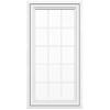 JELD-WEN V4500 1-Lite Vinyl Double Pane Double Strength New Construction Casement Window (Rough Opening: 30-in x 60-in Actual: 29.5-in x 59.5-in)