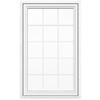 JELD-WEN V4500 1-Lite Vinyl Double Pane Double Strength New Construction Casement Window (Rough Opening: 36-in x 60-in Actual: 35.5-in x 59.5-in)
