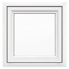 JELD-WEN 24-in x 24-in Premium Series Single Vinyl Double Pane Awning Window