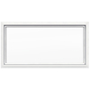 JELD-WEN 48-in x 24-in Premium White Double Pane Rectangular Fixed Geometric Window