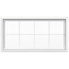 JELD-WEN 48-in x 24-in V4500 Double Pane Double Strength Rectangle New Construction Window