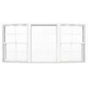 JELD-WEN V2500 Single-Hung Vinyl Double Pane Double Strength New Construction Bow Window (Rough Opening: 72-in x 42-in Actual: 71.5-in x 41.5-in)
