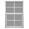 JELD-WEN Builders Aluminum Single Pane Annealed New Construction Single Hung Window (Rough Opening: 26-in x 37.625-in; Actual: 25.5-in x 37.375-in)