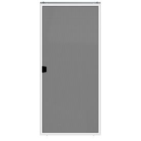 JELD-WEN Builders White Aluminum Sliding Screen Door (Common: 36-in x 80-in; Actual: 35.25-in x 78.875-in)