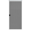 JELD-WEN Builders 36-in White Aluminum Screen Patio Door