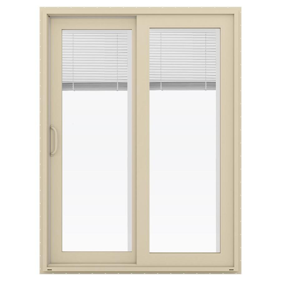 Lowes sliding patio door shop thermastar by pella 25 for 70 sliding patio door
