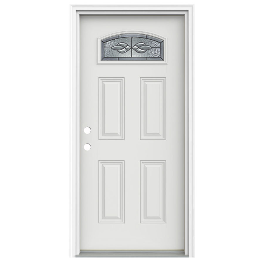 Exterior fiberglass doors lowes for Lowes fiberglass exterior doors