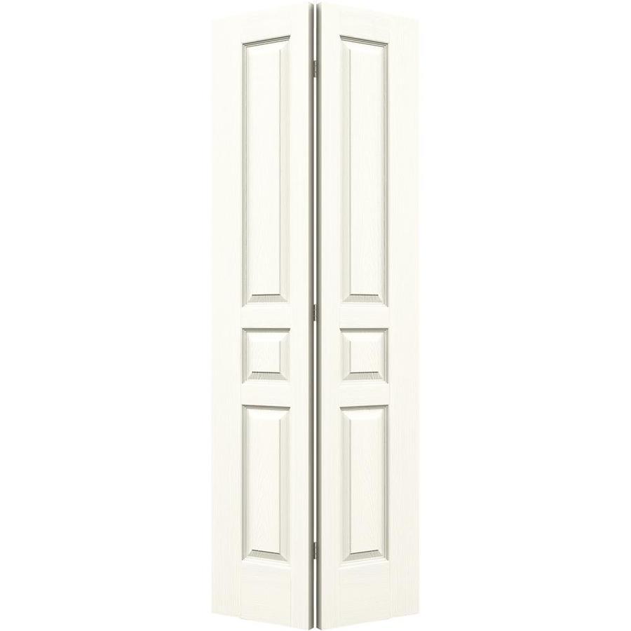 Shop reliabilt no frame 3 panel square hollow core for 24 closet door