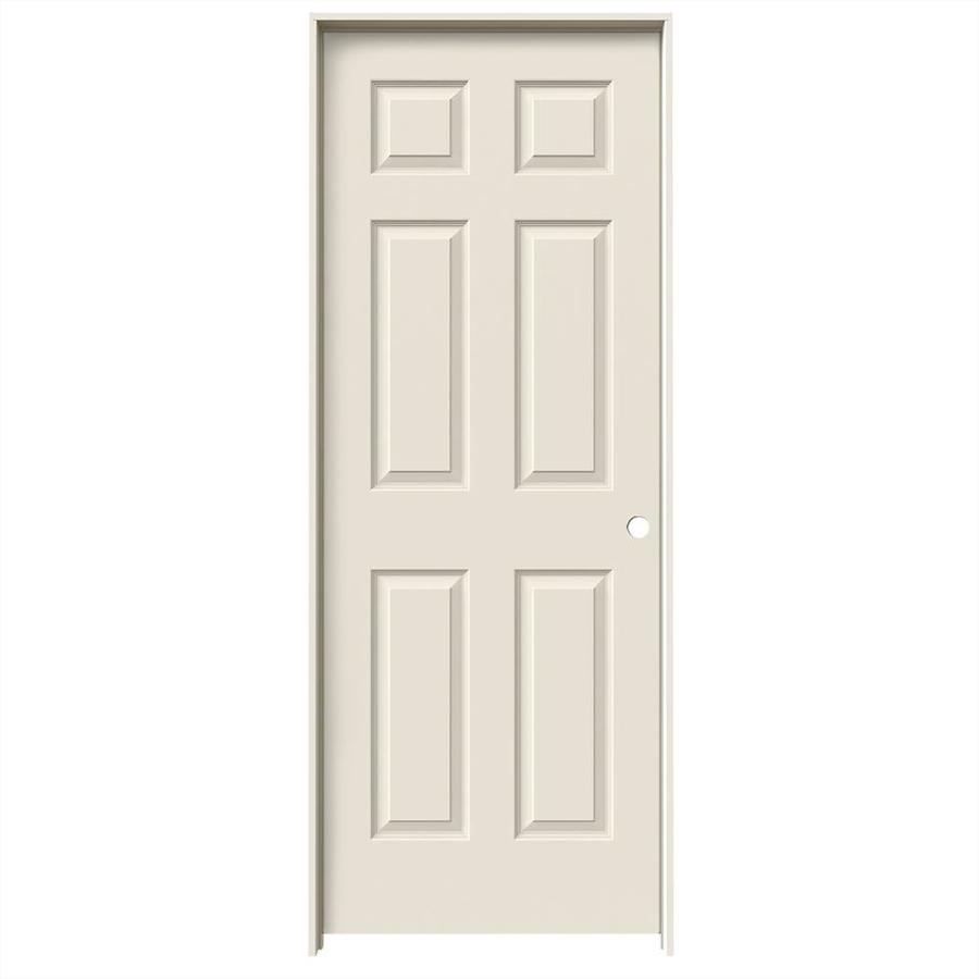 shop reliabilt 6 panel solid core smooth molded composite