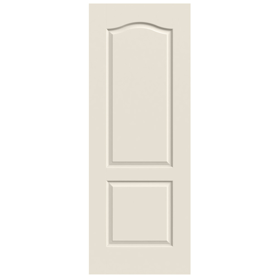 Shop reliabilt 2 panel arch top hollow core smooth non bored interior slab door common 24 in x - Hollow core interior doors lowes ...
