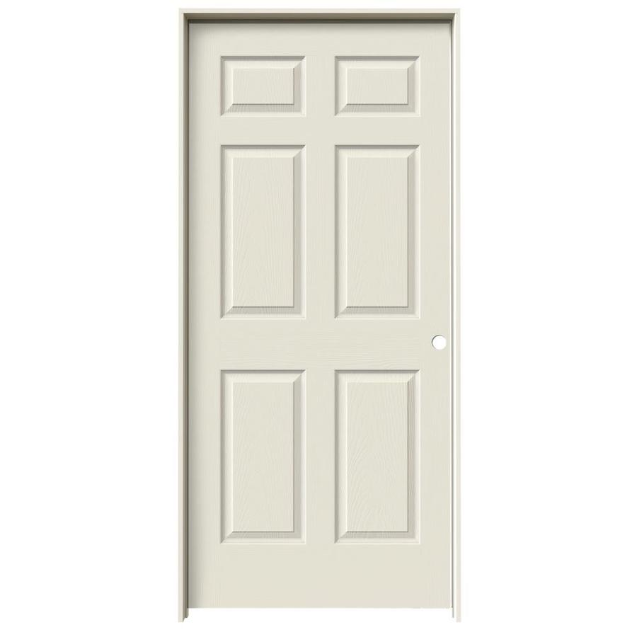 Shop reliabilt 1 panel square hollow core textured molded for 1 panel interior door