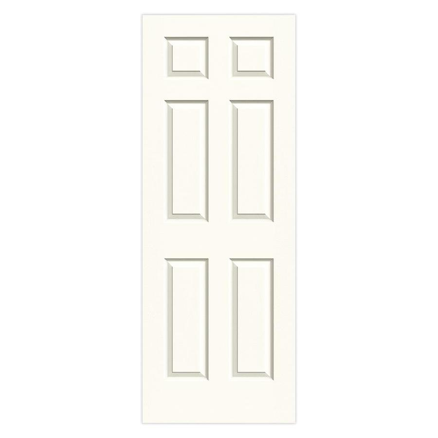 Shop Reliabilt 1 Panel Square Hollow Core Textured Non Bored Mirrored Interior Slab Door Common