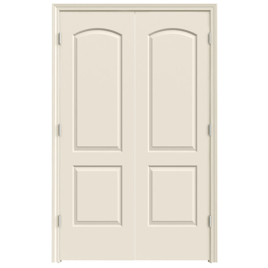 Shop Reliabilt 2 Panel Round Top Hollow Core Smooth Molded Composite Universal Interior French