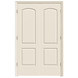Shop reliabilt primed prehung hollow core 2 panel round - Lowes prehung interior french doors ...