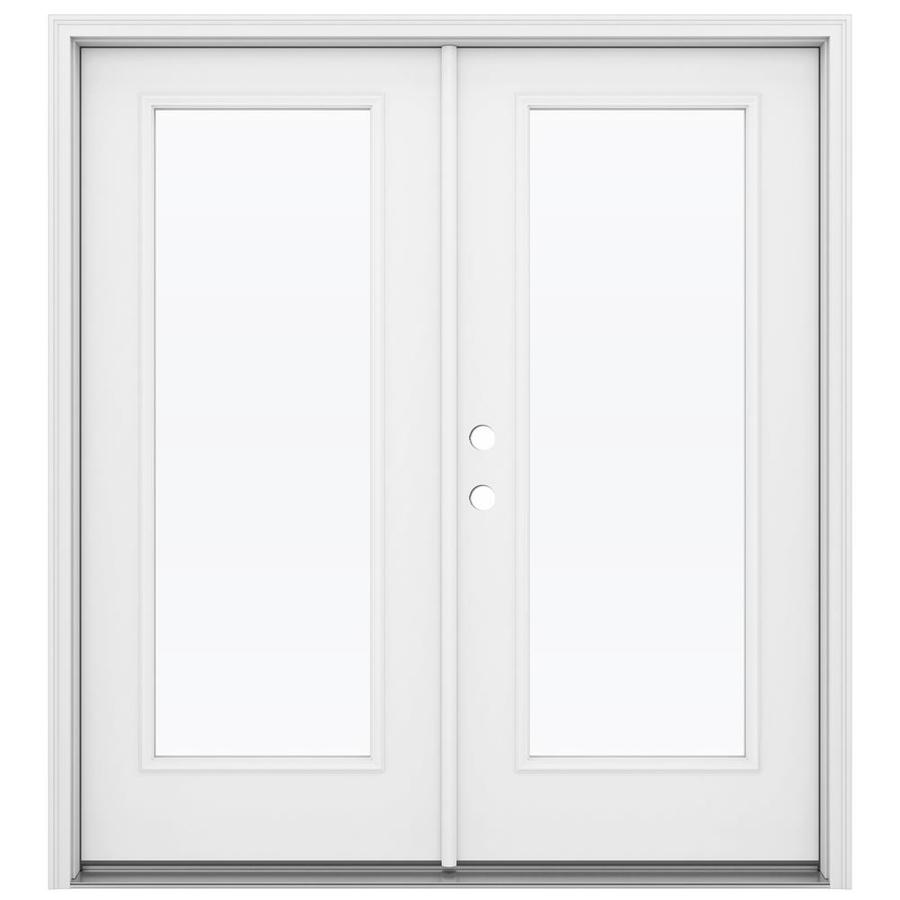 Lowe S French Patio Doors : Shop reliabilt in lite glass steel french inswing