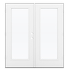 ReliaBilt 71.5-in 1-Lite Glass Steel French Outswing Patio Door