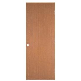 Shop reliabilt prehung hollow core flush oak interior door - Hollow core flush interior doors ...