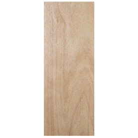 Shop jeld wen solid core flush lauan slab interior door for Solid core flush door price