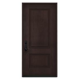 Shop jeld wen 2 panel insulating core right hand inswing for Jeld wen exterior fiberglass doors