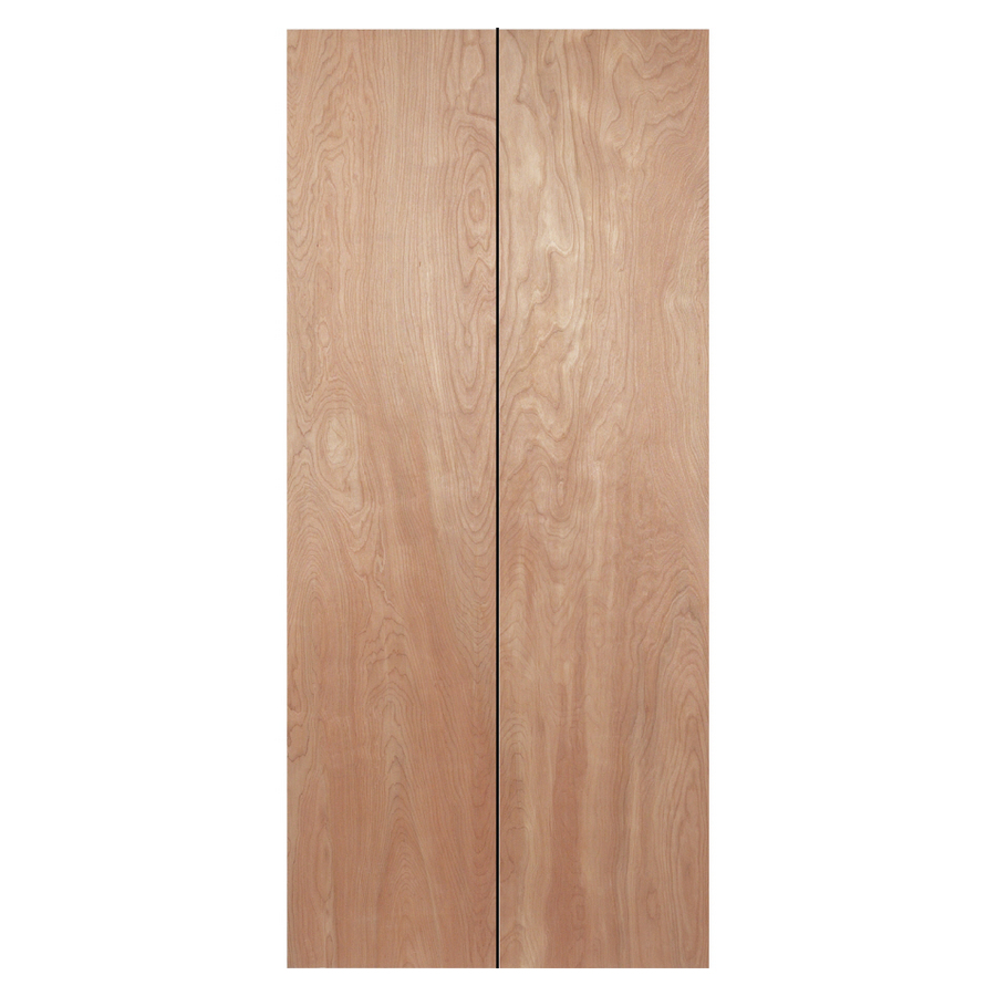 Shop reliabilt 24 in x 79 in flush hollow core wood interior bifold closet door at - Hollow core interior doors lowes ...