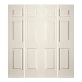 6 Panel Bifold Closet Doors