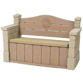 Shop Step2 Outdoor Storage Bench At