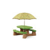 Step2 Naturally Playful&#174; Picnic Table with Umbrella
