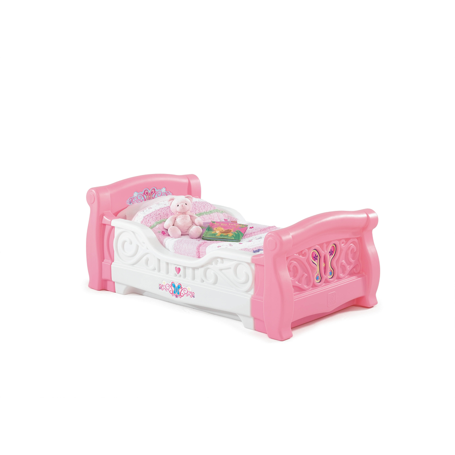 Shop Step2 GirlS Toddler Sleigh Bed At Lowes
