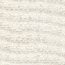allen + roth White Strippable Paper Prepasted Textured Wallpaper