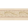 "Style Selections 5"" Gold Leaf Textured Prepasted Wallpaper Border"