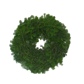 22-in Fresh-Cut Balsam Fir Wreath