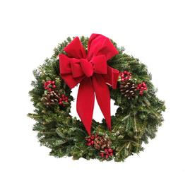 22-in Fresh-Cut Balsam Fir Christmas Wreath