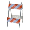 Three D Traffic Works 8-in x 24-in Type II Plastic/Galvanized Barricade Sheeting
