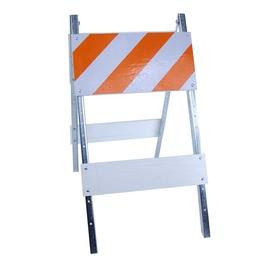 Three D Traffic Works Type I Plywood/Galvanized Steel Folding Barricade