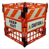 Three D Traffic Works 4 Panel Construction Barrier System