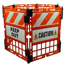 Three D Traffic Works 6 Panel Construction Barrier System