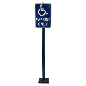 Three D Traffic Works Reboundable Handicap Sign