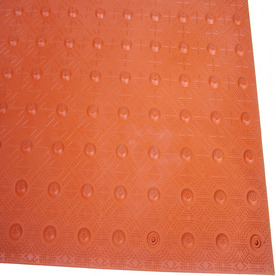 Three D Traffic Works 2-ft x 4-ft Brick Red Detectable Warning Tile