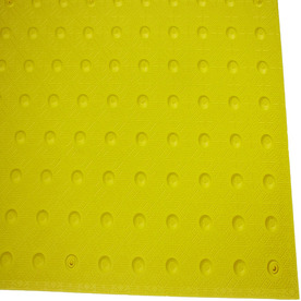 Three D Traffic Works 3-ft x 2-1/2-ft Yellow Detectable Warning Tile