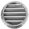 CMI 18-in Galvanized Steel Gable Vent