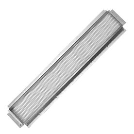 CMI 24.25-in L Silver Galvanized Steel Soffit Vent