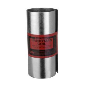 "Construction Metals Inc. 20"" x 12' Galvanized Steel Roll Valley Flashing"