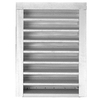 CMI 12-in x 18-in Silver Rectangle Steel Gable Vent