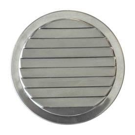 CMI 2.75-in x 2.75-in Silver Round Aluminum Gable Vent