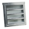 CMI 12-in x 12-in Galvanized Steel Gable Vent