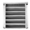 CMI 12-in x 18-in Galvanized Steel Gable Vent