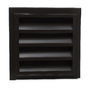 CMI 14-in x 24-in Brown Rectangle Steel Gable Vent