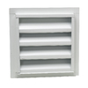 CMI 12-in x 18-in White Rectangle Steel Gable Vent
